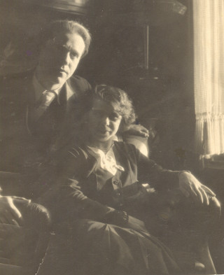 Karl Drerup and Lisbeth Steffens, Euskirchen 1928